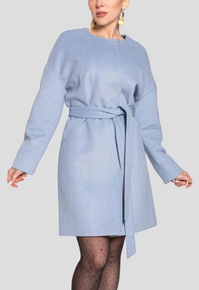 CASHMERE COAT – SO CHIC BLUE