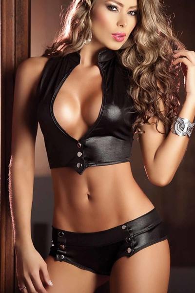 Sexy Εσώρουχα σετ -Μαύρο